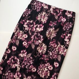 New York and Co stretch pencil skirt Sz 6